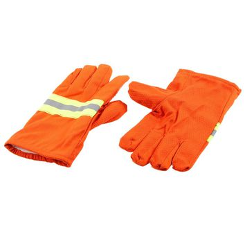 NEW F ire Protective Gloves F ire Proof Heat Proof Waterproof Flame-retardant Non-slip F ire Fighting Gloves