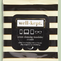 well-kept. Screen Cleansing Towelettes (15-Pack)