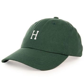 The Classic H Curved Visor in Green