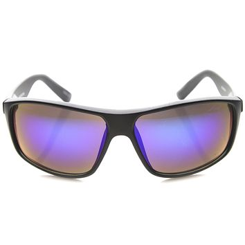 Men's Active Sports Mirror Lens Square Jacket Sunglasses A068