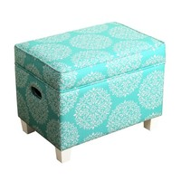 HomePop Medium Storage Ottoman | Overstock.com Shopping - The Best Deals on Kids' Storage