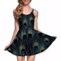 Peacock Out Dress