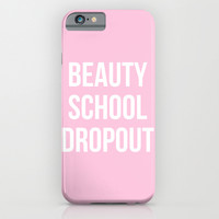 Beauty School Dropout - Grease Inspired iPhone & iPod Case by Rachel Additon