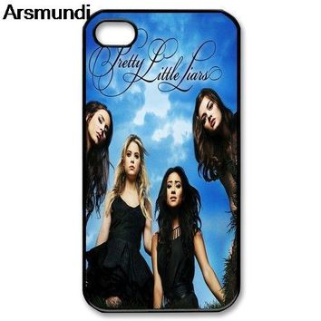 Arsmundi Pretty Little Liars Phone Cases for iPhone 4S 5C 5S 6S 7 8 Plus  XR XS Max for X S7 8 9 6 Case Soft TPU Rubber Silicone