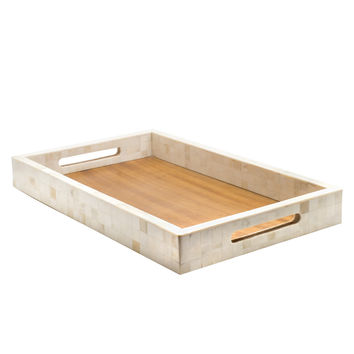 Natural Bone Inlay Tray