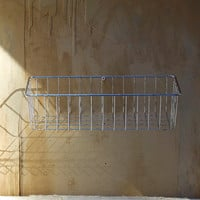 Vintage wire basket for desk office kitchen by oldkeysvintage