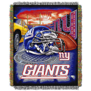 "Giants  """"Home Field Advantage"""" 48x60 Tapestry Throw"