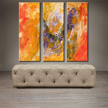 "'African Sunset II' - 30"" X 30"" Original Abstract Paintings."
