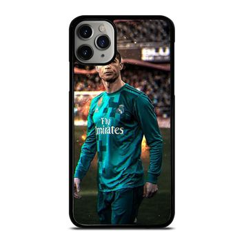 CRISTIANO RONALDO REAL MADRID ART iPhone Case Cover