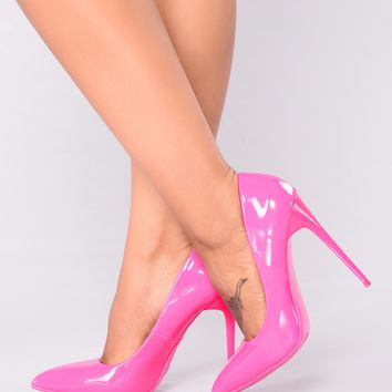 Faith Pump - Pink