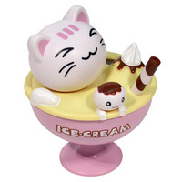 Solar Powered Bobble Head Cat in Pink Ice Cream Cup | AsianFoodGrocer.com, Shirataki Noodles, Miso Soup