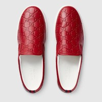shosouvenir :Gucci:Trending Fashion Casual Sports Shoes Red