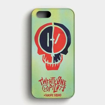 Twenty One Pilots Skeleton Clique iPhone SE Case