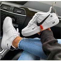 NIKE AIR FORCE 1 07 LOW New Women Men Fashion Casual Wild Sports Running Shoes White