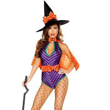 Whimsical Witch Bodysuit Costume