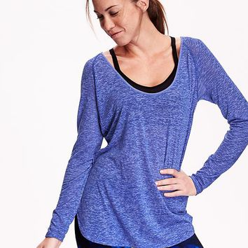 Old Navy Womens Burnout Tunic Tee