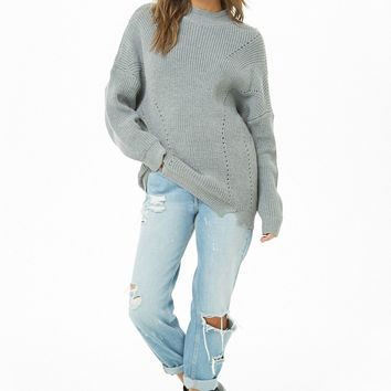 Pointelle Knit Sweater