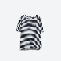 JACQUARD TOP - View All-T-SHIRTS-WOMAN-SALE | ZARA United States