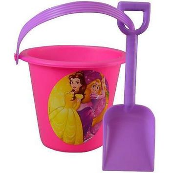 Party Favors Disney Princess Sand Bucket and Shovel Beach Toys For Kids