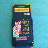 Simply Southern Navy Shine Brighter Coozie