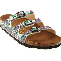 Papillio by Birkenstock Florida Rose Print Sandals — QVC.com