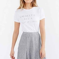 You're Welcome Cherry Pie Tee- White