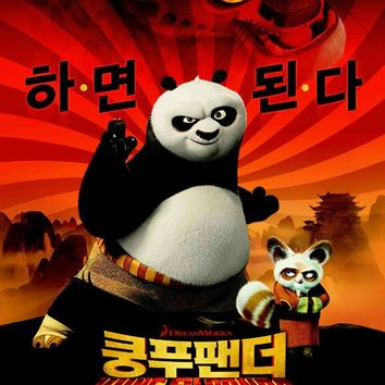 Kung Fu Panda (Korean) 27x40 Movie Poster (2008)