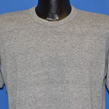 80s Russell Athletic Blank Gray t-shirt Large