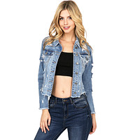 Sassy Shred Denim Jacket