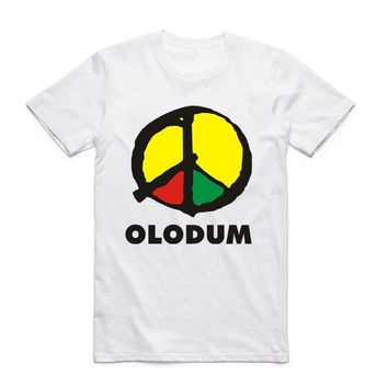 Olodum Afro-Brazil Peace Sign T-Shirts
