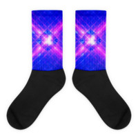 Windows Infinity || Black foot socks — Future Life Fashion