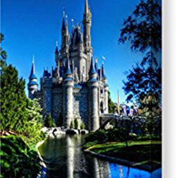 """Disney Hdr 002"" by Lance Vaughn, Canvas Print Wall Art, 6"" x 8"", Mirrored Gallery Wrap, Glossy Finish"
