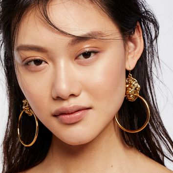 Free People Lion's Den Knocker Earrings