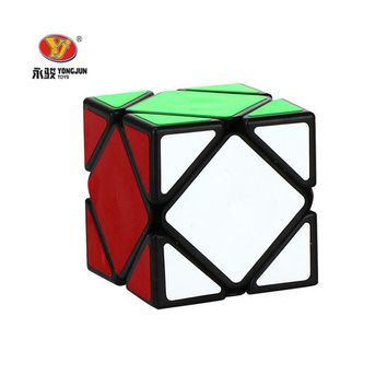 YONGJUN Puzzle Speed Magic Cubes Irregular Square Educational Special Adults Toys Funny High Quality Birthday Gifts For Children