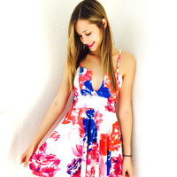 I Make Me Happy Dress- Floral