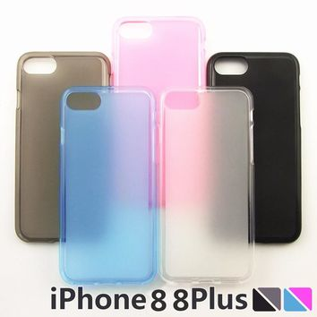 5 colors cases For Apple iPhone 8 8plus Case Bumper Cover Shock-Absorption Bumper Anti-Scratch Clear Back For iPhone 8 plus case