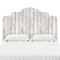 Wood I Headboard Decal