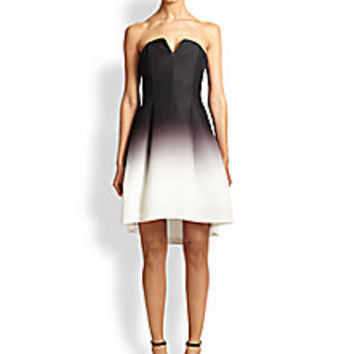 Halston Heritage - Ombre Faille Strapless Dress - Saks Fifth Avenue Mobile