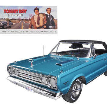 "1967 Plymouth Belvedere GTX ""Tommy Boy"" Movie (1995) 1-18 Diecast Model Car by Greenlight"