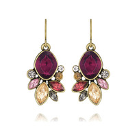 C+I Bouquet Rouge Drop Earrings