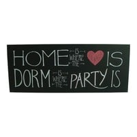 Simple by Design ''Home & Dorm'' Wooden Box Sign Art