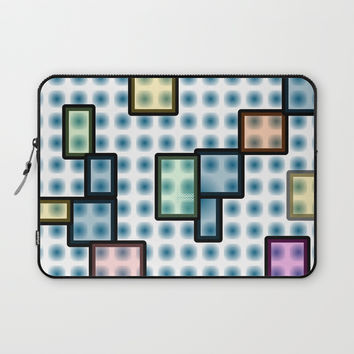 zappwaits glass Laptop Sleeve by netzauge