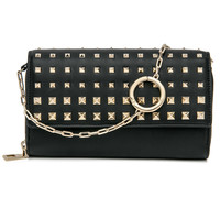 Black Rockstud Carry Secrets Wallet