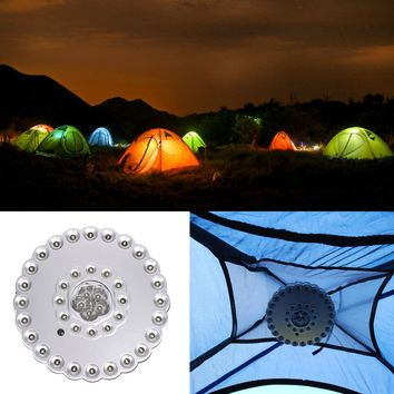 Portable Bright 41 LED Camping Hiking Fishing Tent Lantern Light Lamp Torch Outoor Hanging Camping Lighting