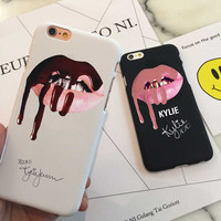 Kylie Lips Phone Case Hard Case For All iPhone 7+ 7 6+ 6 6s 5s 5e 5C