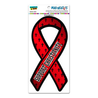 Christianity Religious Support Ribbon MAG-NEATO'S TM Car-Refrigerator Magnet