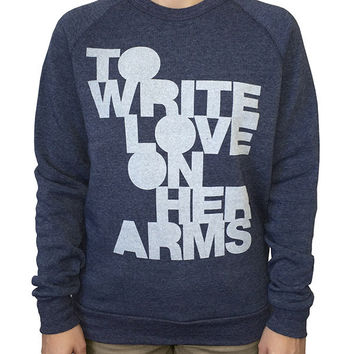 To Write Love on Her Arms Official Online Store - Filled Sweatshirt
