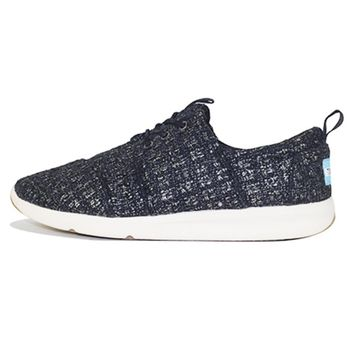 Toms for Women: Del Rey Sneaker Black Glitter Wool