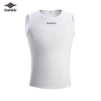 Santic Winter Summer Cycling Jerseys Quick Dry MTB Road Bike Bicycle Shirt Bike Clothes Sport Gilet Clothing Ropa Ciclismo Men