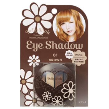 Dolly Wink Eyeshadow (Sweet Dolly Brown 01)